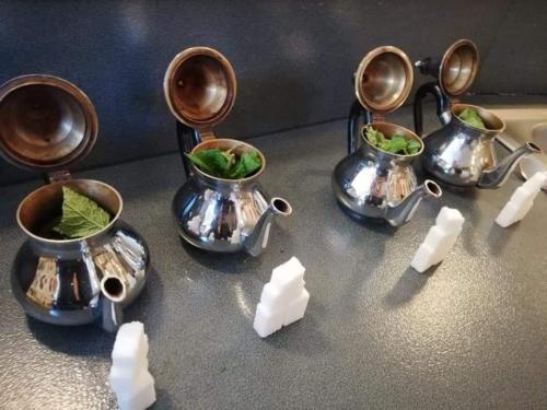 Thé à la menthe fait maison